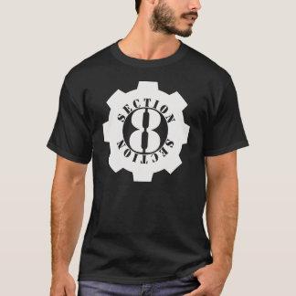 T-shirt Logo avant de la section 8 complètement