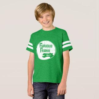 T-shirt Logo blanc furieux de Frank sur la pièce en t de