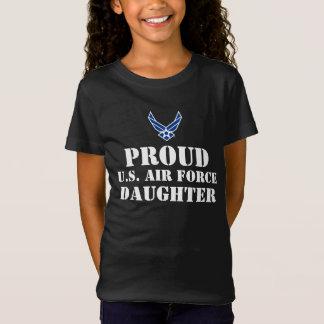T-Shirt Logo bleu et étoile de l'Armée de l'Air