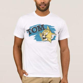 T-shirt Logo bleu et jaune de Tom