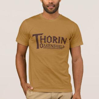 T-shirt Logo Brown de THORIN OAKENSHIELD™