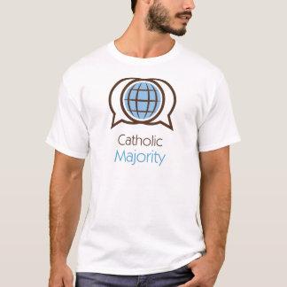 T-shirt Logo catholique de majorité