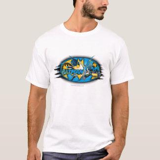 T-shirt Logo classique de collage du symbole   de Batman