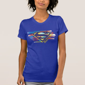T-shirt Logo coloré du S-Bouclier | de Superman