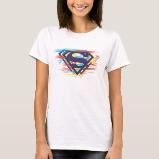 T-shirt Logo coloré du S-Bouclier | de Superman