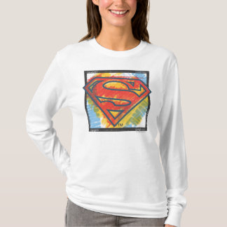 T-shirt Logo coloré par | de S-Bouclier de Superman