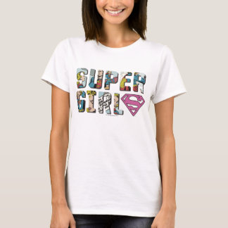 T-shirt Logo comique de Supergirl