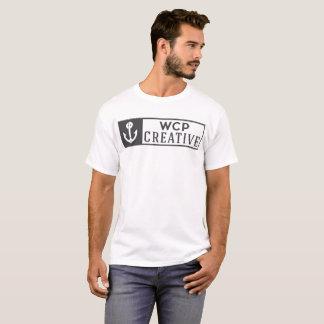 T-shirt Logo créatif de WCP plein