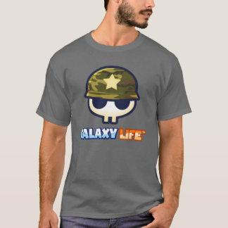 T-shirt Logo d'Alliance de milice de la vie de galaxie !