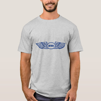 T-shirt Logo d'asa Blue Wings