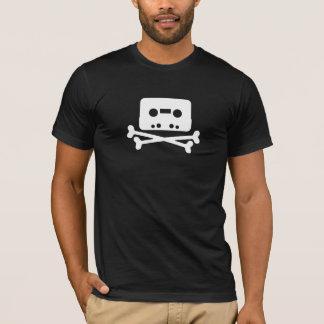 T-shirt Logo de bande de baie de pirate