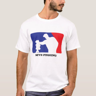 T-shirt Logo de base-ball pour la pêche au bar