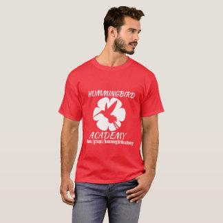 T-shirt Logo de blanc d'académie de colibri