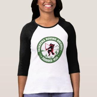 T-shirt Logo de centre de pièce en t du base-ball de Ladie