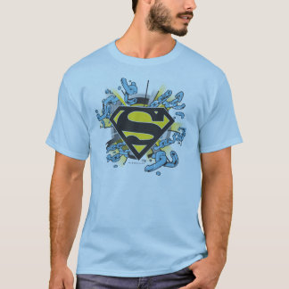 T-shirt Logo de chaînes du S-Bouclier | de Superman
