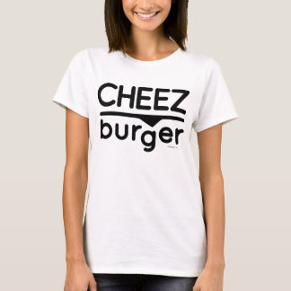 T-shirt Logo de Cheezburger (noir)