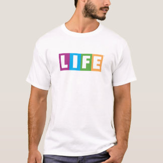 T-shirt Logo de classique de la vie