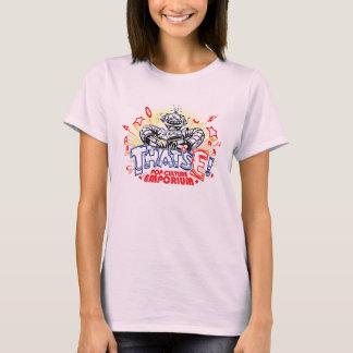"T-shirt Logo ""de crayon coloré"" de TE"