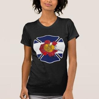 T-shirt Logo de formation du feu du Colorado