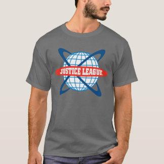 T-shirt Logo de globe de ligue de justice