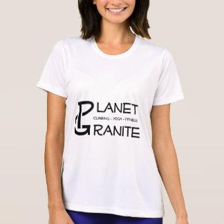 T-shirt Logo de granit de planète