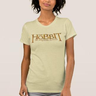 T-shirt Logo de Hobbit - or