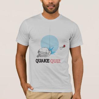 T-shirt Logo de jeu-concours de tremblement