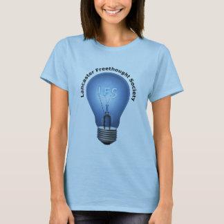 T-shirt Logo de LFS sur le bébé bleu de dames - pièce en t