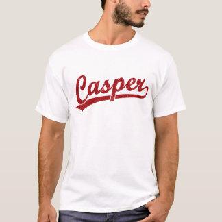 T-shirt Logo de manuscrit de Casper en rouge