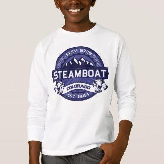 T-shirt Logo de minuit de bateau à vapeur