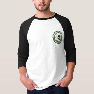 T-shirt Logo de poche de pièce en t du base-ball des