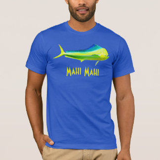 T-shirt Logo de poissons de Mahi Mahi