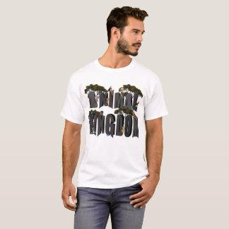 T-shirt Logo de règne animal avec des animaux,