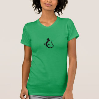 T-shirt Logo de salamandre (noirs et blancs de base)