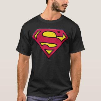 T-shirt Logo de saleté du S-Bouclier | de Superman