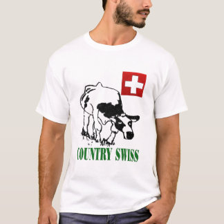 T-shirt Logo de Suisse de pays