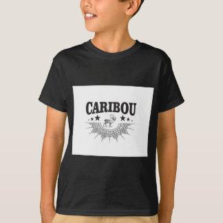 T-shirt logo de tasse de caribou