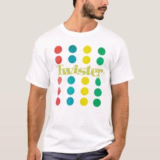 T-shirt Logo de tornade dans le tapis de jeu