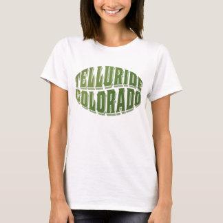 T-shirt Logo de vert d'anciennes actions de tellurure