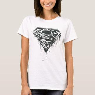 T-shirt Logo d'éclaboussure réduit en fragments par | de