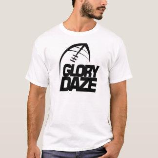 T-shirt Logo d'équipe de stupéfaction de gloire (noir et