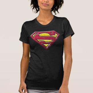 T-shirt Logo d'éraflures du S-Bouclier | de Superman