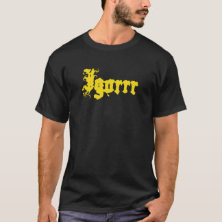 T-shirt Logo d'Igorrr d'or