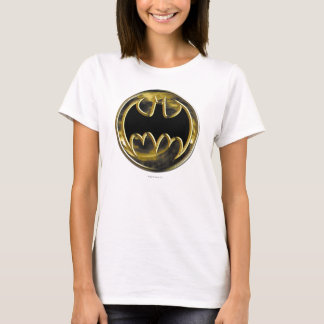 T-shirt Logo d'or du symbole | de Batman