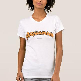 T-shirt Logo d'orange d'Aquaman