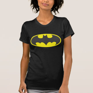 T-shirt Logo d'ovale de batte du symbole | de Batman