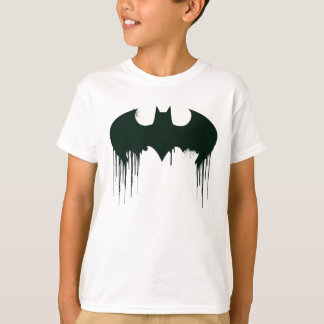 T-shirt Logo du symbole   Spraypaint de Batman