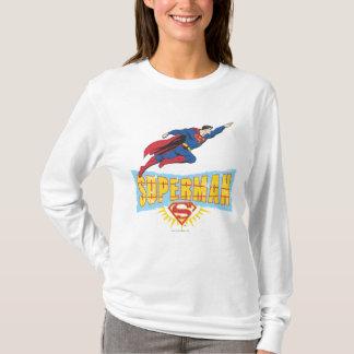 T-shirt Logo et vol de Superman