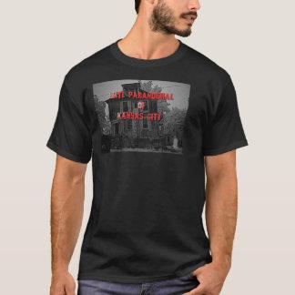 T-shirt Logo femelle paranormal de fantôme d'ÉLITE