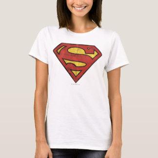 T-shirt Logo grunge du S-Bouclier | de Superman